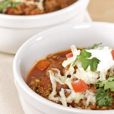 Jimmy Fallon's Crock-Pot Chili i This stuff Rocks! Cilantro and Beer makes it delicious.