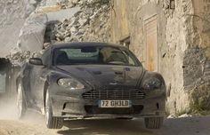 Quantum of Solace Aston Martin DBS James Bond