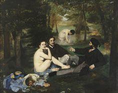 Edouard Manet | Le Dejeuner sur l'herbe, 1863 | Musée d'Orsay |