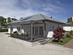 case parter pentru lot ingust Bungalow, Gazebo, Outdoor Structures, Outdoor Decor, Modern, Home Decor, Houses, Homes, Kiosk