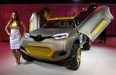 Renault KWID, el primer coche del mundo con drone incorporado