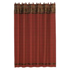 HiEnd Accents Cascade Lodge Shower Curtain - LG1845SC