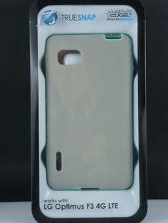LG Optimus F3 4G LTE Case Grey And Mint