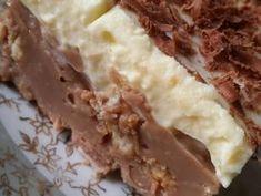 Γλυκό ψυγείου με μπισκότα και τριμμένη σοκολάτα της Gretel συνταγή από I❤to Cook by Rania - Cookpad Greek Recipes, Deserts, Pie, Pudding, Cooking, Sweet, Ethnic Recipes, Food, Georgia