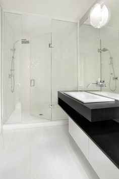 GUEST 2/3       Madison Avenue, The Annex, Toronto - contemporary - bathroom - other metro - Sisters in Sync Design