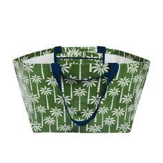 Palm Oversize Tote Palm Print, Recycling, Tote Bag, Beach, Holiday, Vacation, Hand Prints, Totes, Holidays