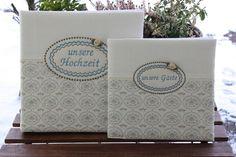 Hochzeitsgästebuch - Gästebuch ***unsere Gäste*** - ein Designerstück von bemali-Unikate bei DaWanda Designer, Notebook, Chanel, Tote Bag, Carry Bag, Notebooks, Tote Bags, Exercise Book, The Notebook