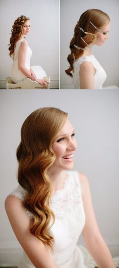 Formal hairstyles, pretty hairstyles, how to wave hair, hair dos, hair hack Fancy Hairstyles, African Hairstyles, Vintage Hairstyles, Wedding Hairstyles, Creative Hairstyles, Wedding Hair And Makeup, Bridal Hair, Hair Makeup, Bridal Gowns