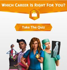 A little bit of curiosity: Which Sims 4 Career is Right for You???