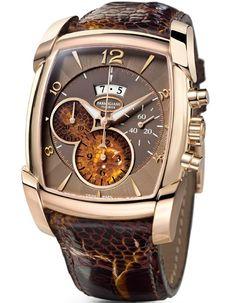 parmigiani watches | Parmigiani Fleurier Kalpagraph Savane automatic chronograph watch ...