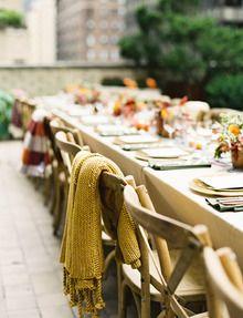 Fall Outdoor Wedding,