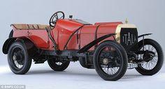 Racer: Een 1908 Itala Grand Prix Car kon halen ongeveer £ 2,5 miljoen