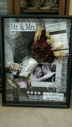DIY shadow box