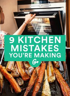 Who knew nonstick cooking spray was a bad idea? #kitchen #food #tips https://greatist.com/eat/mistakes-youre-making-in-the-kitchen