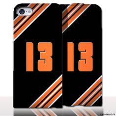 Protection iPhone 5 Cuir Numero - Personnalisez votre étui en cuir. #13 #BouchesDuRhone #Marseille #etui #iPhone5 #Cuir