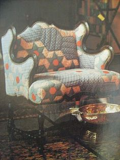 quilt chair