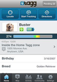 iphone 5 dog tracker app