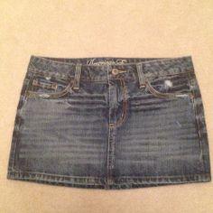 American Eagle denim Skirt - $14