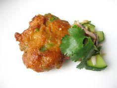 Shrimp Fried Rice with Nam Prik Pao (Thai chili paste) and Crispy ...