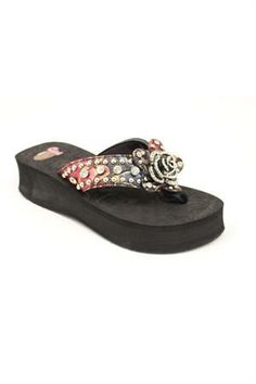 I think I might need these---Justin Alexis Rose Flip Flop Women's Sandal #headwestoutfitters