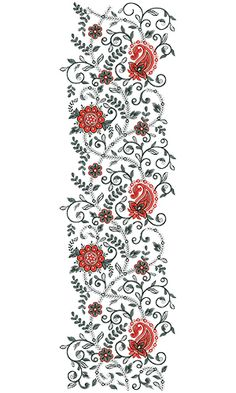 9493 All Over Embroidery Design