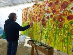 martin kinnear flower - Google Search Landscapes, Google Search, Flowers, Painting, Art, Abstract, Paisajes, Art Background, Scenery