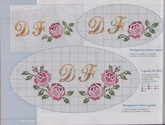 Harika. Fall Cross Stitch, Wedding Cross Stitch, Cross Stitch Borders, Cross Stitch Alphabet, Modern Cross Stitch Patterns, Cross Stitch Flowers, Cross Stitching, Cross Stitch Embroidery, Embroidery Patterns