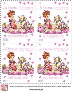 Valentines Day Fancy Nancy Theme On Pinterest Fancy