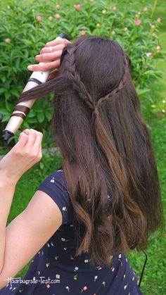 Lockenstab 32mm: Welcher 32mm Lockenstab ist gut? - Praxis Tests! Bobby Pins, Hair Accessories, Dreadlocks, Hairstyle, Beauty, Vsco, Fashion, Braided Hairstyles, Best Hair Wand