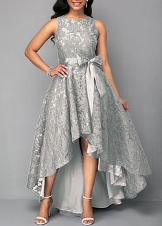 From parties and formal dinners to work events and casual summer afternoons,our women's dress selection features something fllatering for every occasion. High Low Lace Dress, High Low Cocktail Dress, Cocktail Dresses, Lace Party Dresses, Evening Dresses, Prom Dresses, African Fashion Dresses, African Dress, Tight Dresses