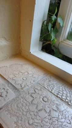 Tiles in Window by Bella Odendaal Tiles, Windows, Rugs, Home Decor, Room Tiles, Farmhouse Rugs, Decoration Home, Room Decor, Tile
