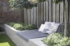 Garden Crafts, Garden Art, Home And Garden, Outdoor Sofa, Outdoor Furniture Sets, Outdoor Decor, Cosy Corner, Modern Garden Design, Decks And Porches