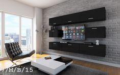Kedvenc bútor / Modern nappali bútor CONCEPT 7 (matt) Flat Screen, Conference Room, Table, Furniture, Home Decor, Blood Plasma, Decoration Home, Room Decor, Flatscreen