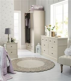Hove Putty Wardrobe With Drawer by Next