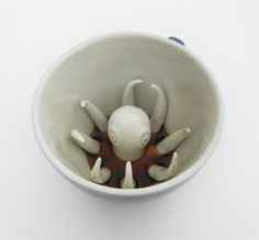 fun coffee mugs!  http://www.etsy.com/shop/creaturecups?ref=seller_info
