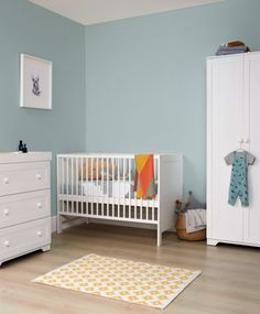 Furniture Rye Compact Cotbed 3 Piece Wooden Nursery Set
