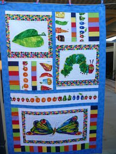 Inspiration. Picture only. No pattern. Gecko: The Very Hungry Caterpillar