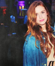 Holland Roden attends an advance screening of Entourage at the Playboy Mansion on May 20, 2015 in Los Angeles, California.