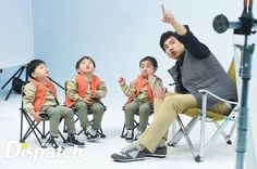 Daehan, Minguk, Manse and appa   KIA CF BTS