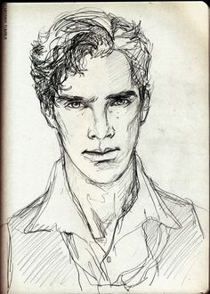 Benedict Cumberbatch drawing
