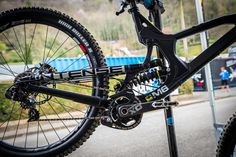 PIT BITS - Aaron Gwin's FOX Float X2 Rear Shock - PIT BITS - World Cup, Lourdes, France - Mountain Biking Pictures - Vital MTB