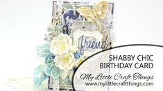 Card Series 121 - Shabby Blue Birthday