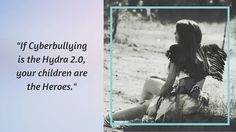 If #cyberbullying is the Hydra 2.0 your Children are the Heroes.  What is Cyberbullying? The Hydra 2.0 (my new article onhttp://ift.tt/1jfeQR2) Imagine: a monster is pursuing your child. Its body has no material: sometimes you can see it some other times you dont yet its still on ambush on your child. It has many heads they multiply minute after minute hour after hour: no matter how many heads you cut down there are more and more. Its eyes are always open even when your child is sleeping…