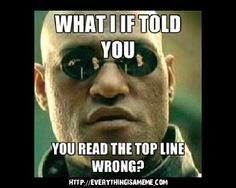What If I Told You – make your own meme