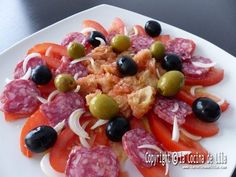 Spanish Kitchen, Spanish Cuisine, Good Healthy Recipes, Healthy Salads, Chef Recipes, Cooking Recipes, Puerto Rican Recipes, Fresh Vegetables, Chutney