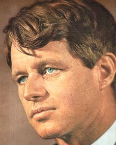 "United States Attorney General Mr~~Robert Francis Kennedy (November 20, 1925 – June 6, 1968), commonly known as ""Bobby"" or by his initials RFK, was an American politician from Massachusetts. He served as a Senator for New York from 1965 until his assassination in 1968. He was previously the 64th U.S. Attorney General from 1961 to 1964, serving under his older brother, President John F. Kennedy. ♡❤❤❤♡❤♡❤❤❤♡ http://en.wikipedia.org/wiki/Robert_F._Kennedy"