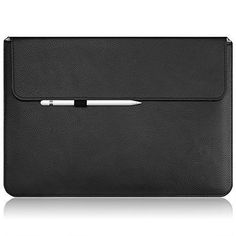 From 8.81:Macbook Pro Case Sleeve Omoton Thinnest And Lightest Pu Leather Wallet Sleeve For Apple Macbook Pro (13 Inch 2016 Released) Built- In Interior Holder For Apple Pencil And Document Pocket Black