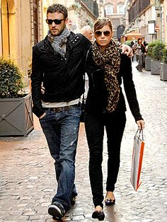 I love them. one of the cutest celeb couples ever.