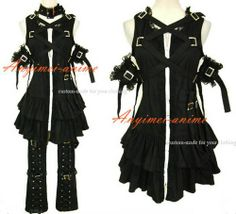 Male gothic lolita outfit