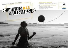 """Exposição fotográfica coletiva """"Dentro das 4 Linhas"""".  Reunião de imagens de 19 fotógrafos locais retratando a prática do esporte mais popular do mundo, o futebol.  Vernissage dia 20 de junho, sexta-feira, às 20h.  Centro Cultural Sesc Paraty - DN Rua da Matriz, 20. (Rua Marechal Santos Dias). Centro Histórico. Paraty / RJ  #PousadaDoCareca #Paraty #SESC #SESCParaty #exposição #fotografia #cultura #turismo"""